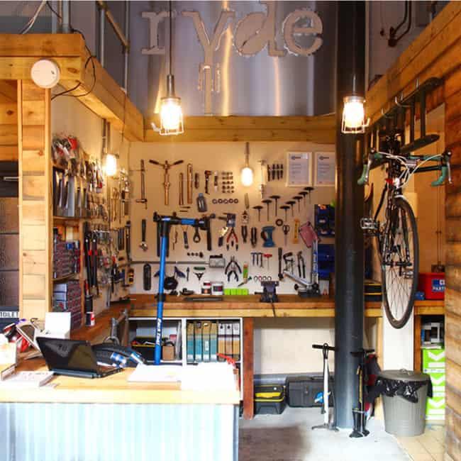 dica para ter uma oficina de bicicleta