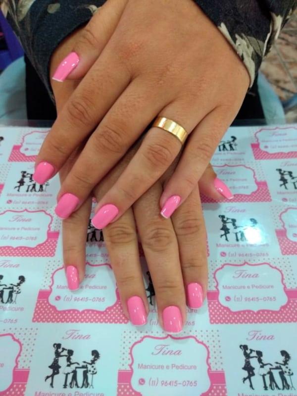 placa de fundo personalizada para manicure