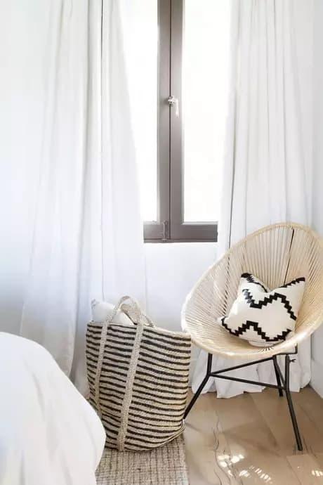 cadeira acapulco de palha