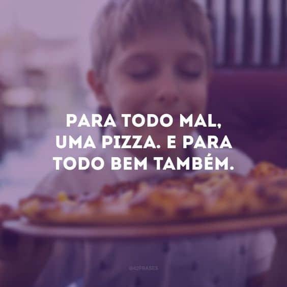 mensagem para dia da pizza