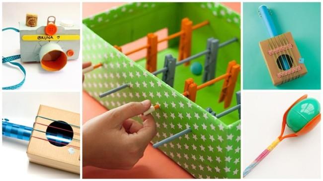 brinquedos reciclados faceis de fazer