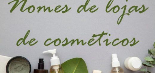 nomes de lojas de cosmeticos