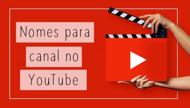 0 nomes para canal no youtube