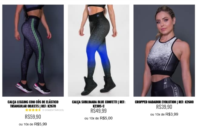 fornecedor online de roupas