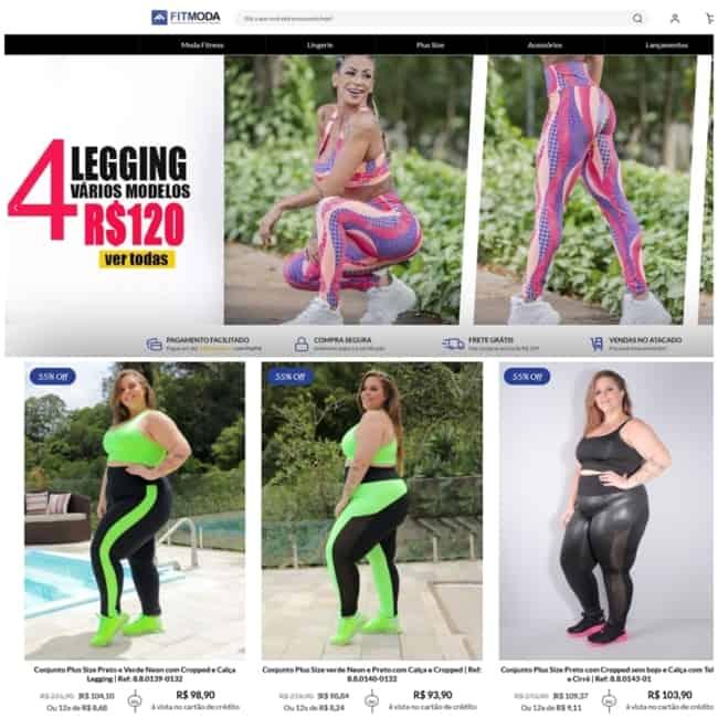 loja de roupas fitness para revender