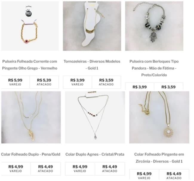 fornecedor para bijuterias