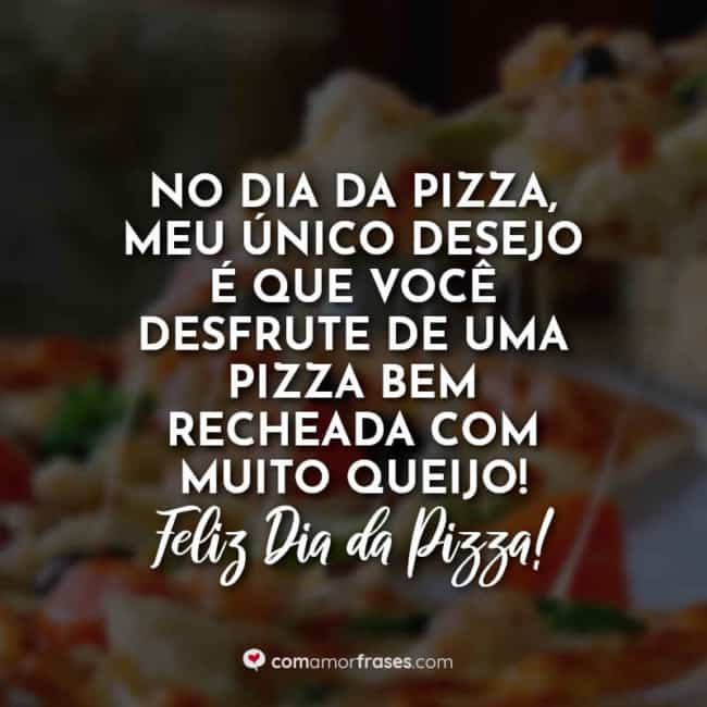 frase para impulsionar venda de pizza