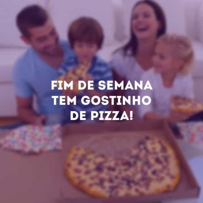 frase para propaganda de pizza