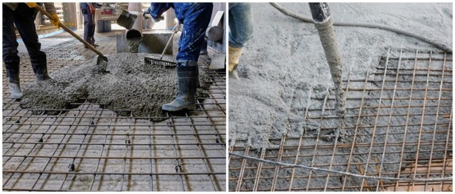 como funciona concreto armado