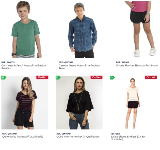fornecedor para loja de roupas