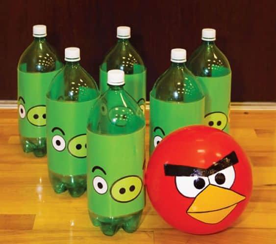 boliche criativo e reciclado
