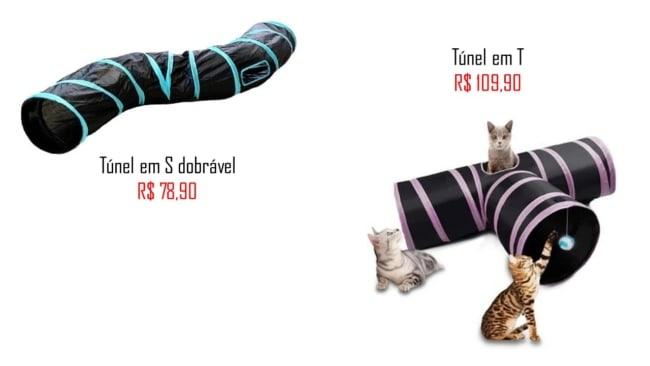 onde comprar e precos de tunel para gato