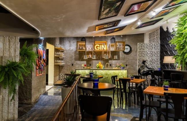 bar com decoracao moderna