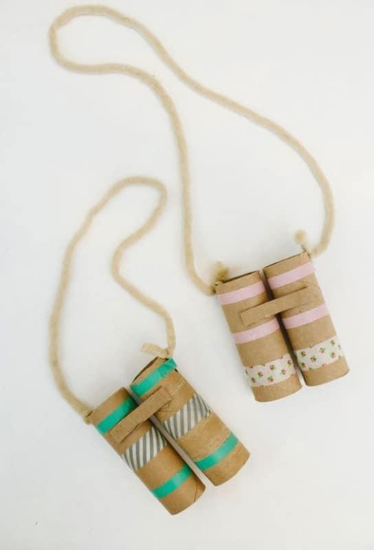 brinquedo facil de fazer com rolinho de papel