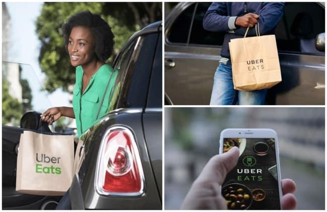 como ganhar dinheiro com Uber Eats