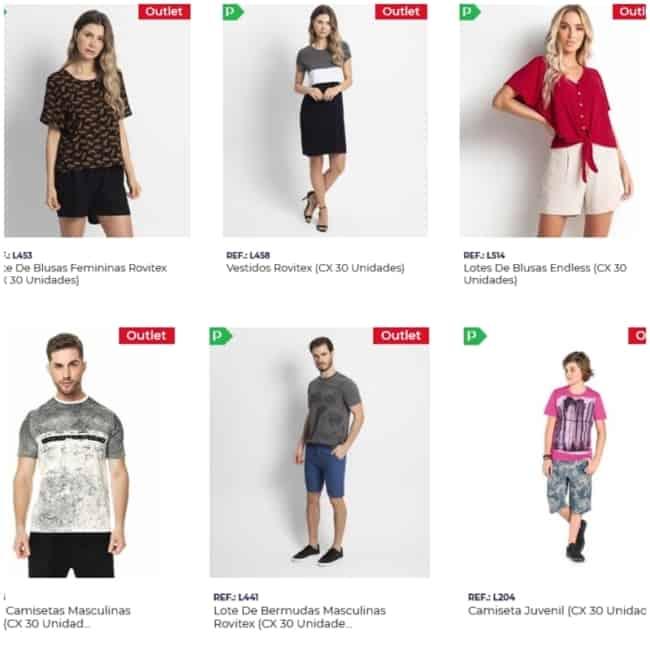 loja para comprar roupa para revender