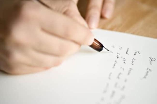 Carta a proprio punho