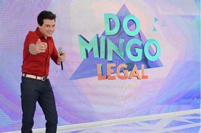 Celso Portioli apresenta o programa Domingo Legal