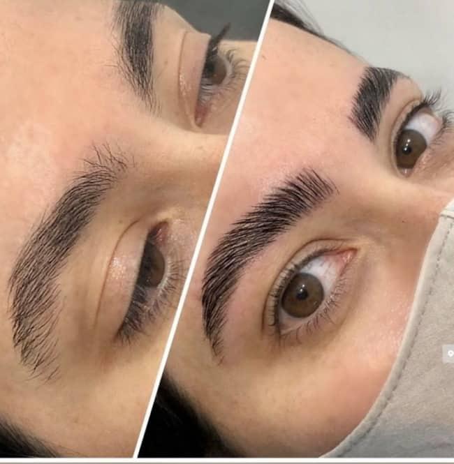 brow laminatin antes e depois 13