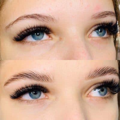 brow laminatin antes e depois 16