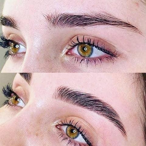 brow laminatin antes e depois 18