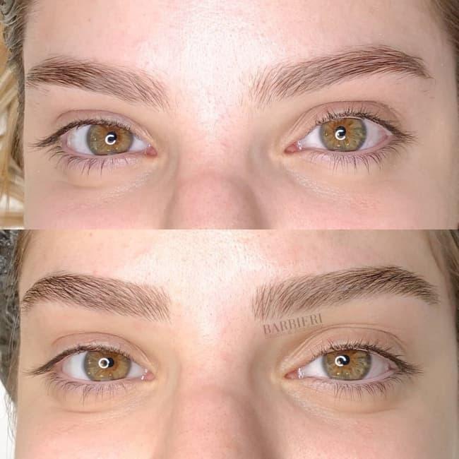 brow laminatin antes e depois 19