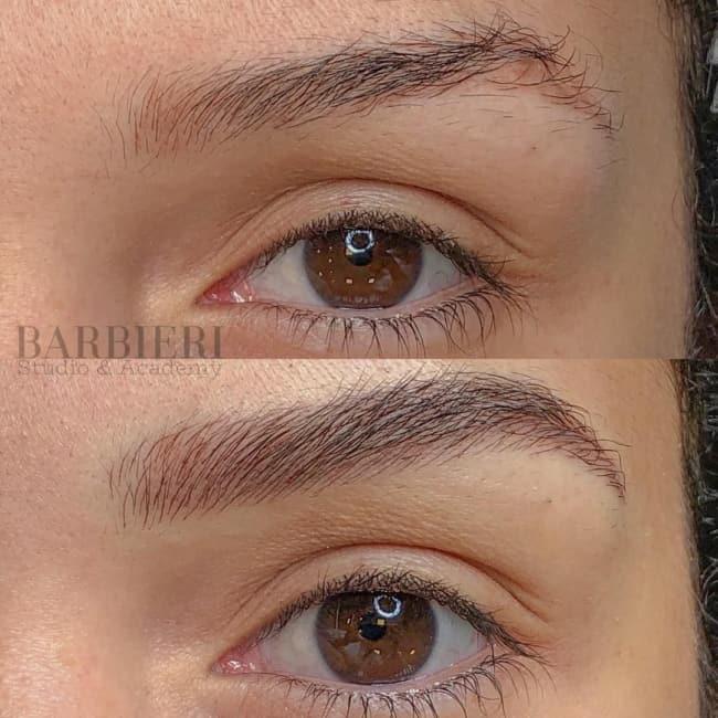brow laminatin antes e depois 20