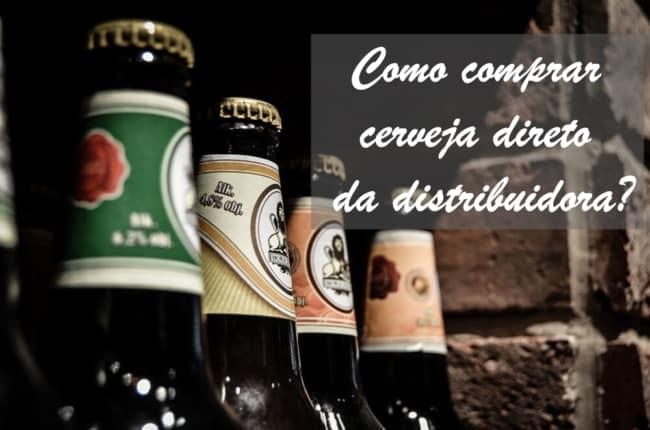 como comprar cerveja direto da distribuidora