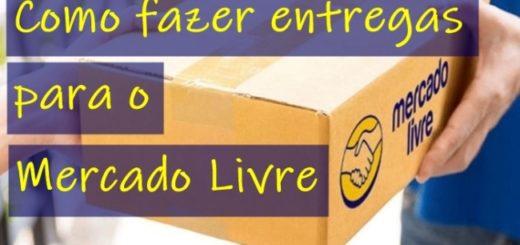 como fazer entregas para o mercado livre