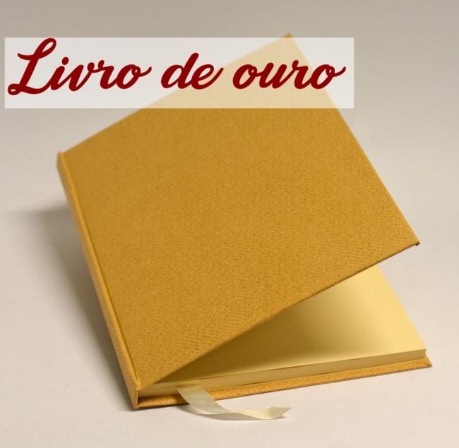 livro de ouro