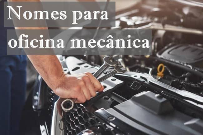 nomes para oficina mecanica