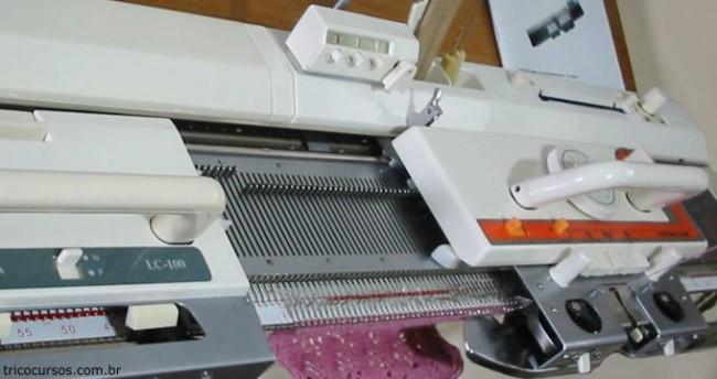 dicas e como funciona maquina de croche