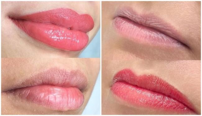 cores de micropigmentacao nos labios