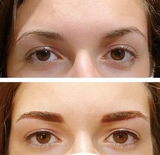 micropigmentacao nos olhos com delineado fino