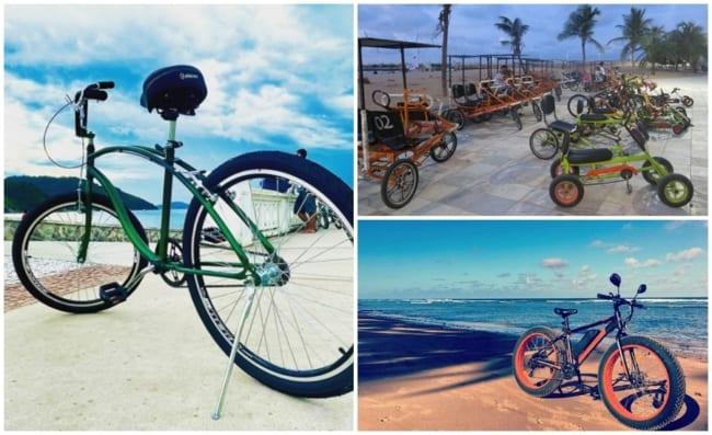 negocio de aluguel de bicicletas