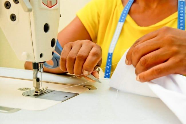 como trabalhar com empresas que fornecem servico de costura