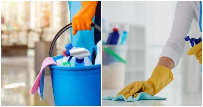lista com ideias de nomes de empresas de limpeza