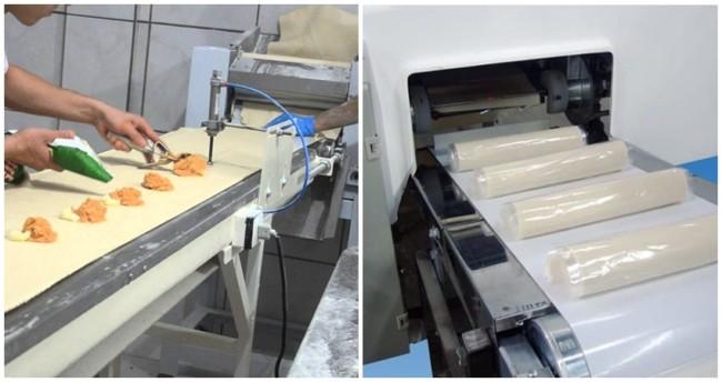 tipos de maquina de pastel