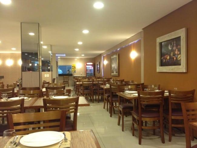 decoracao de restaurante aconchegante
