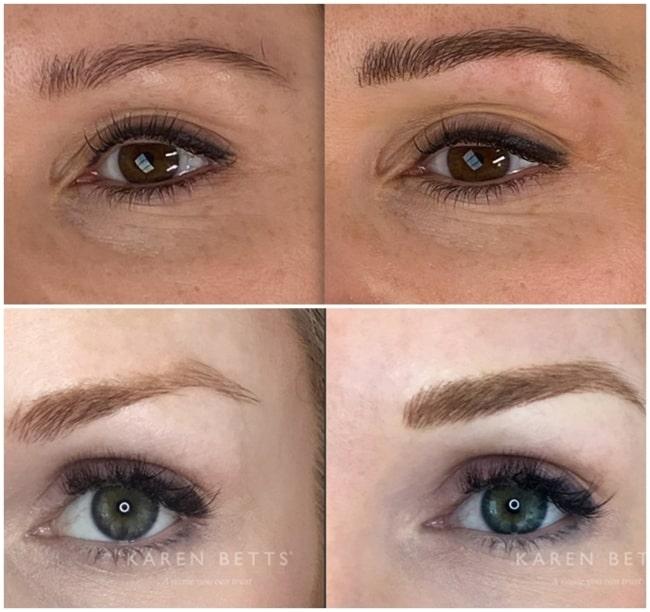 resultados de micropigmentacao nas sobrancelhas
