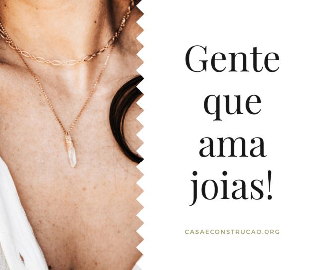 frase curta para divulgacao de joias