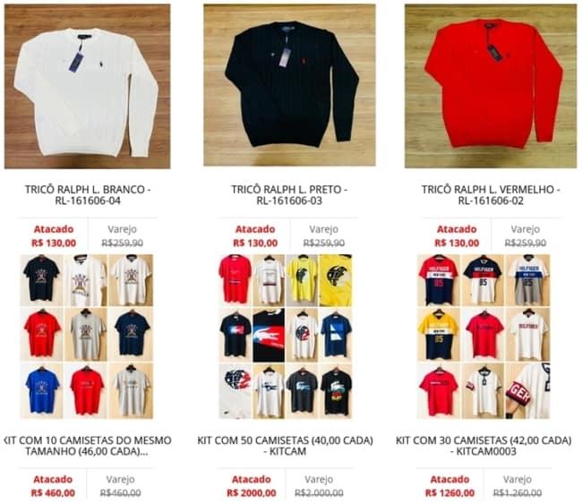 site para comprar roupas importadas