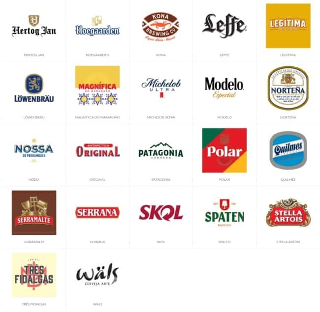 marcas de cervejas para comprar de distribuidor