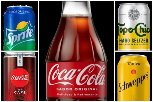 fornecedor de bebidas Coca Cola