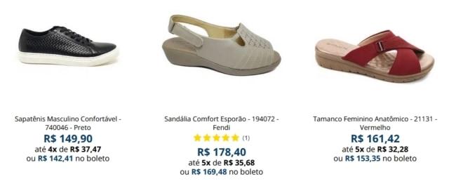 lojas de fabrica para comprar calcados em Franca