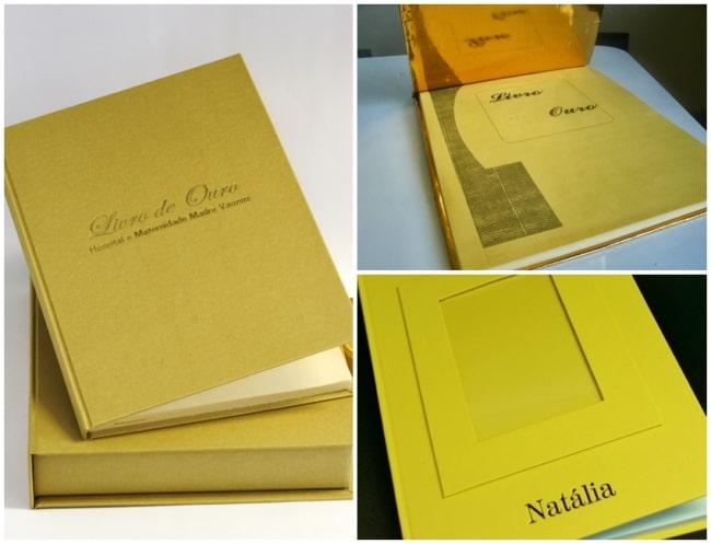 modelos de livro de ouro