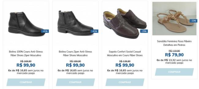 onde comprar calcados em Franca