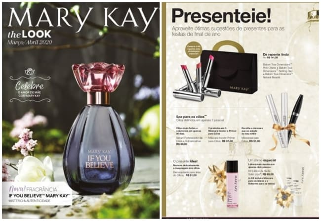 catalogo Mary Kay para revender