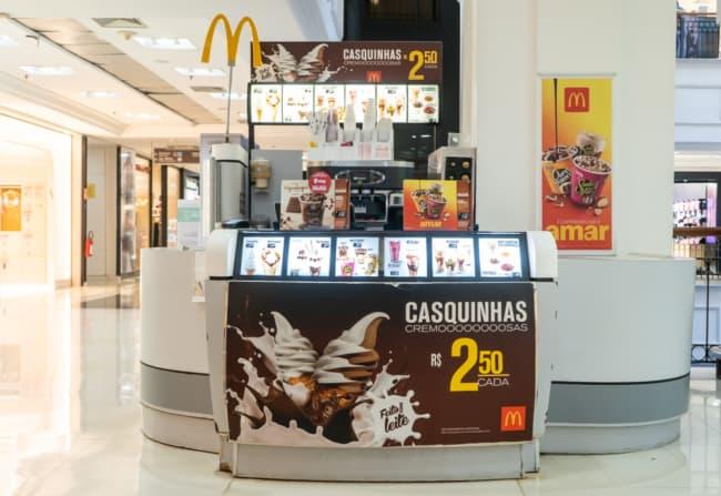 preco franquia sorvete McDonalds