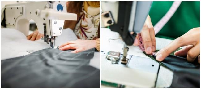 trabalho com costura